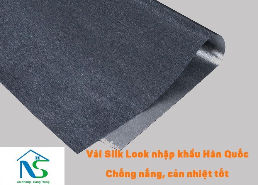Chất liệu vải Silk Look nhập khẩu Hàn Quốc 100%, chất liệu vải độ bền cao đảm bảo kết cấu vải khi khắc laze, chống nắng cản nhiệt tốt